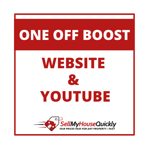 ONE OFF BOOST WEBSITE AND YOUTUBE
